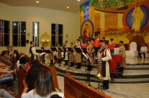 Cantata Natlina na Paróquia Santa Mãe de Deus - Vila Velha