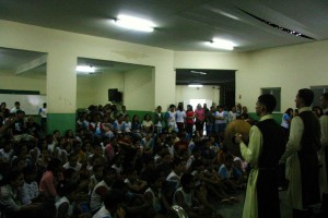 Apresentação do Futuro e Vida na UMEF Ulisses Álvares em Vila Velha