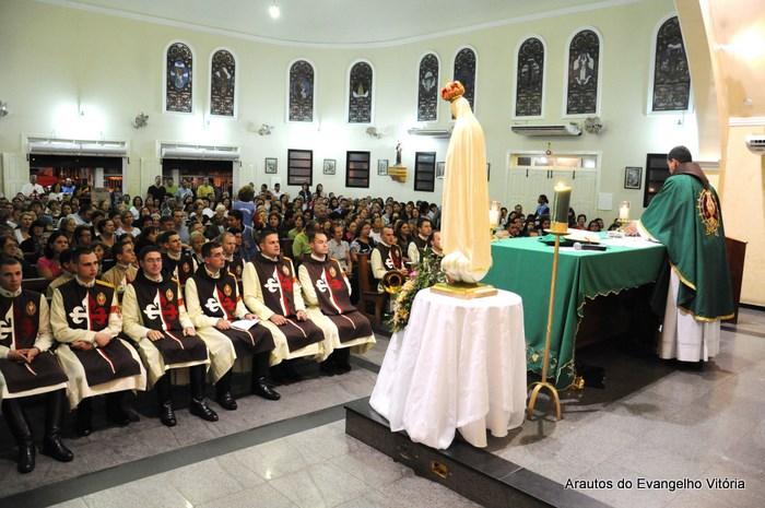 Missa de abertura das Missões Marianas em Vila Velha - Paróquia NSra. da Glória