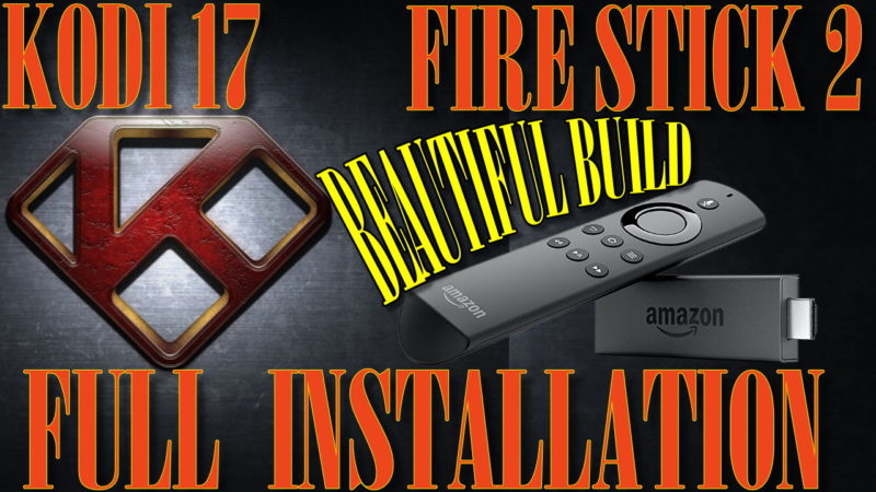 I will show you how to install KODI 17 Krypton (XBMC) step by step into the 2nd generation Amazon TV stick. This is a full working instalation, including a Beautiful Build for you to enjoy plenty of free movies.