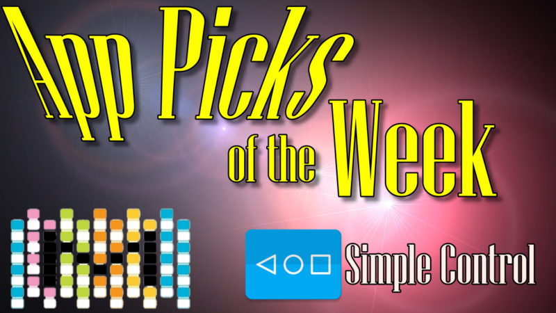 App Picks of the Week for Wednesday, November 15, 2016 Simple Control (Navigation bar)