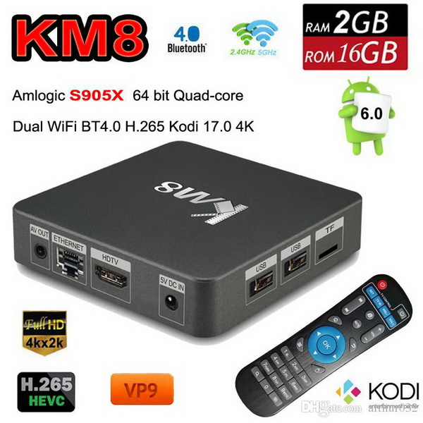Firmware KM8 TV Box Android Marshmallow 6 0 - Media Box Ent
