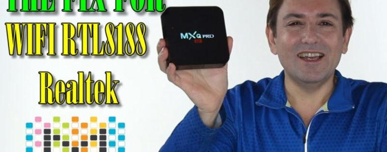 FIX MXQ-PRO 4K 1GB/8GB, this firmware is for MXQ Pro WIFI RTL8188 Realtek