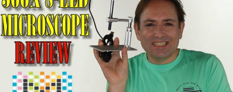Andonstar 500X 8-LED 2MP HD USB Digital Microscope Magnifier Pen Endoscope