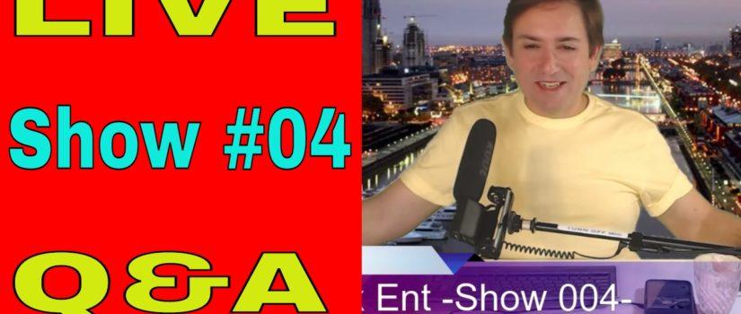 💫 LIVE Show 004 -Q & A- Media Box Ent