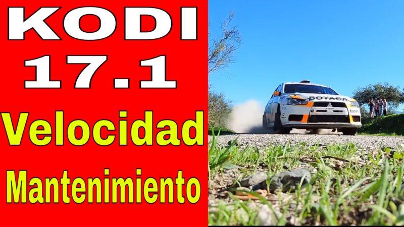 Kodi 17.1 Mantenimiento