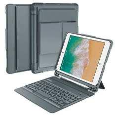 Nulaxy iPad Keyboard Case Compatible with iPad Air1/2, iPad Pro 9.7, iPad 9.7