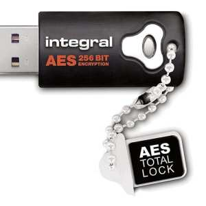 Integral 16GB Crypto Drive - FIPS 197 Encrypted USB