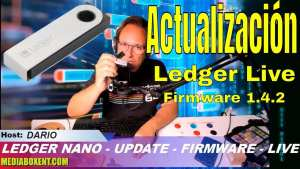 Como actualizar Ledger Nano a la version Live