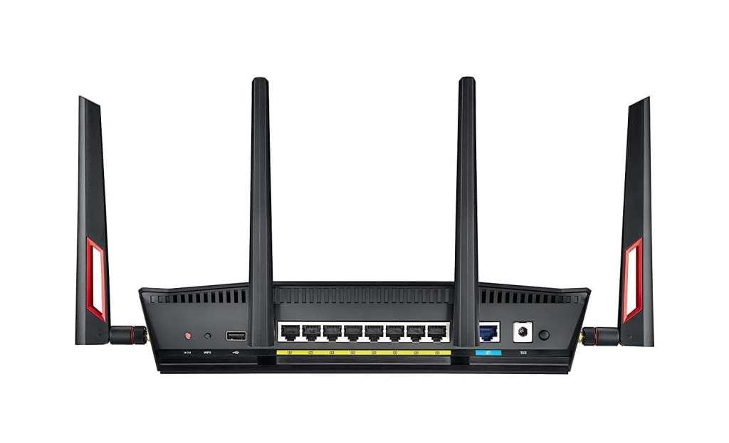 ASUS Dual-Band Gigabit WiFi Gaming Router (AC3100) RT-AC88U