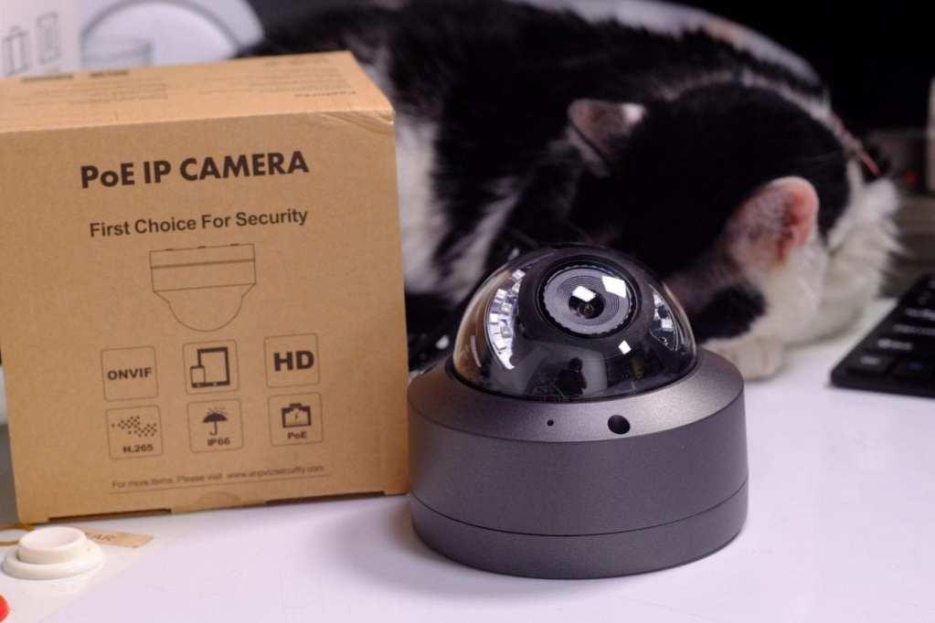 5MP H.265 IR Dome IP Camera PoE