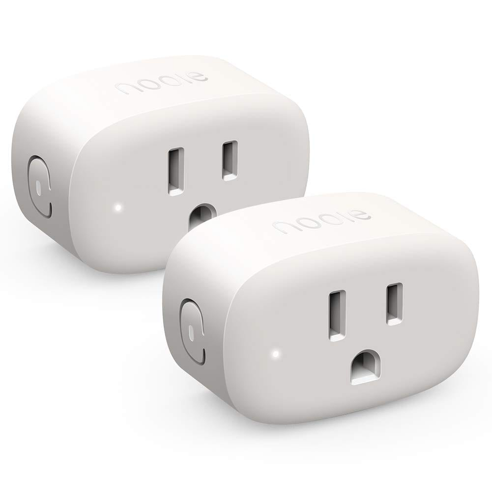 Nooie Smart Plug Wifi Outlet Mini Smart Socket Compatible with Alexa, Google Home, No Hub Required. Schedule Timer Function Control Electric Devices