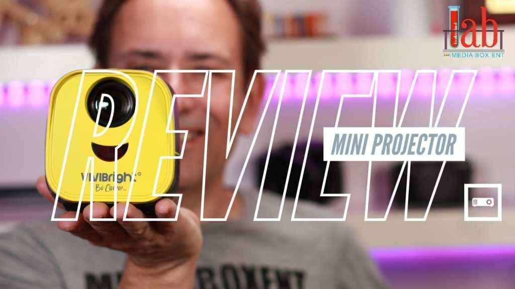 Super Mini Projector Full HD 1080P