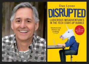 Dan Lyons' Disrupted is 'wildly entertaining': Ashlee Vance 1