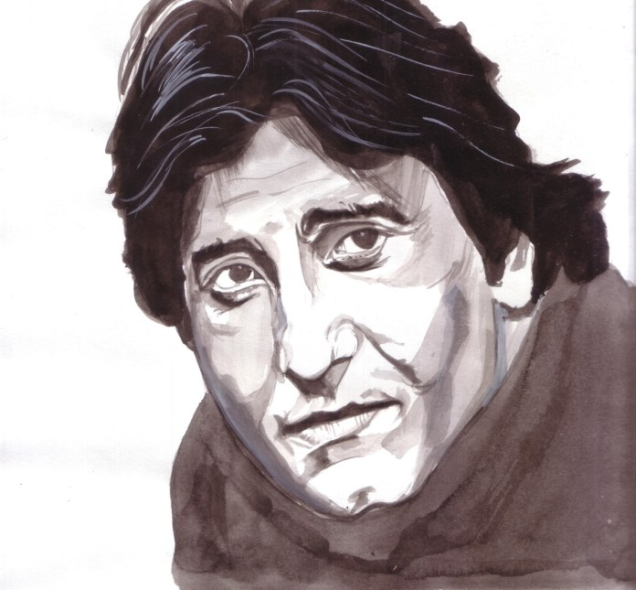 image-Vinod-Khanna-Portrait--Saurabh-Turakhias-passion-for-celebrity-portraits-mediabrief