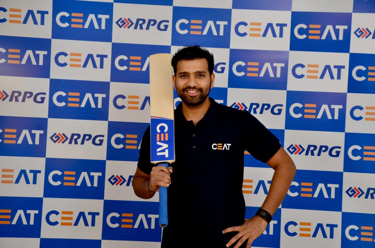 Rohit Sharma gets 3-year extension on bat endorsement from CEAT