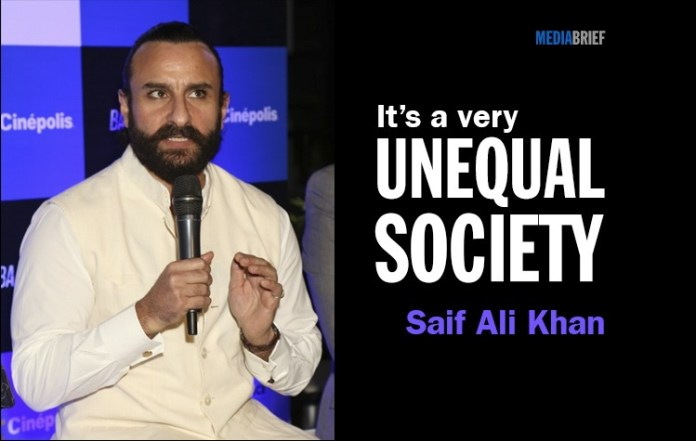 People don't have the guts to misbehave with my family: Saif Ali Khan 1