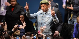 Pharrel warns Trump not to play Happy without permission