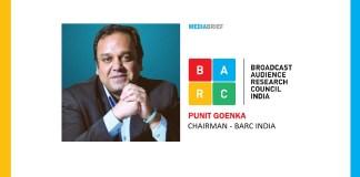 Punit Goenka named BARC India Chairman - MediaBrief