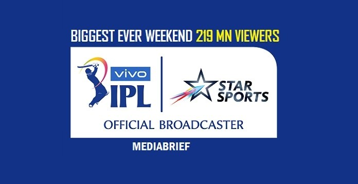 IMAGE-vIVO ipl 2019 HAS BIGGEST EVER WEEKEND-MEDIABRIEF-1