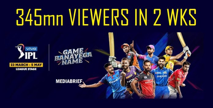 image-VIVO IPL 2019-delivers-massive-345mn-viewers-in-2-weeks-mediabrief-1