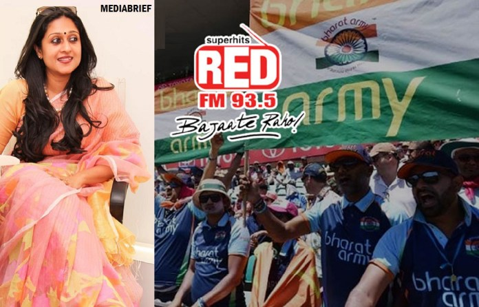 Image-RED FM to serve up passion support of Cricket with the Bharat Army - Cricket World Cup 2019-FEATURED -mediabrief