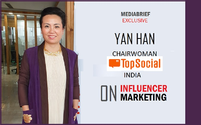 image-1-Yan Han - Chairwoman - TopSocial India on Influencer Marketing-MediaBrief-Exclusive