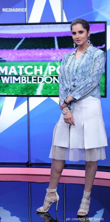 image - Sania Mirza as an expert on Match Point for Wimbledon 2019 on Star Sports Select and Hotstar-MediaBrief