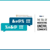 Moderating uncivil comments hurts trust in News