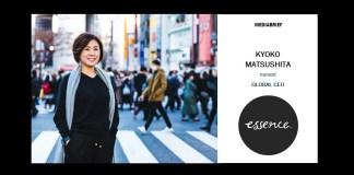 image- Kyoko Matsushita Named GLOBAL CEO Essence - MediaBrief