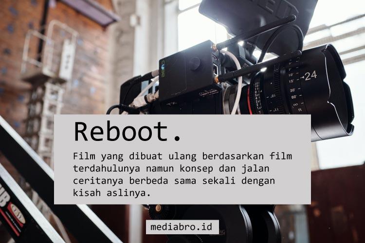 Arti Film Reboot