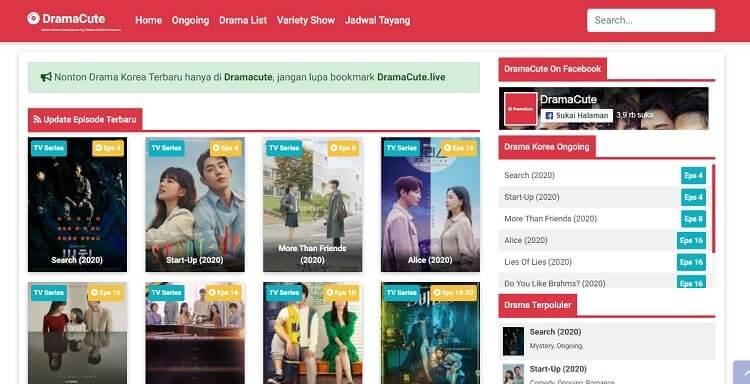 situs nonton drama korea Dramacute