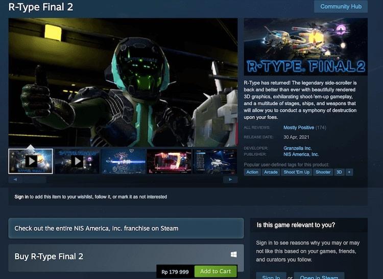 halaman beli game Steam