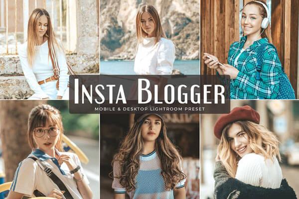 Preset Lightroom Insta Blogger