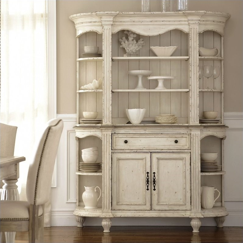Riverside Furniture Coventry Two Tone Server And Hutch In