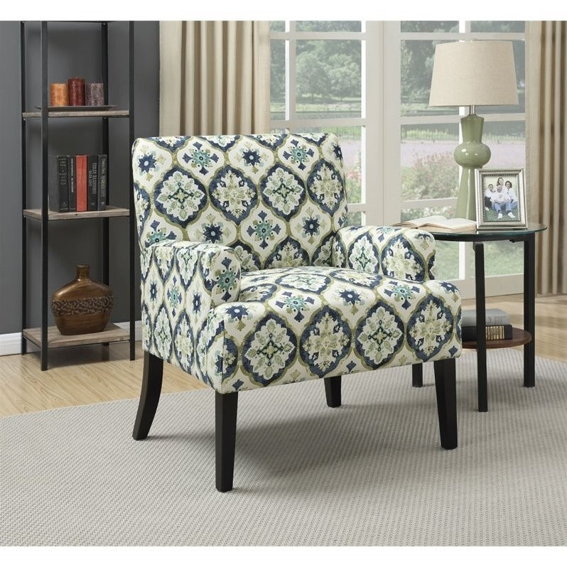 And Accent Blue Green Chair