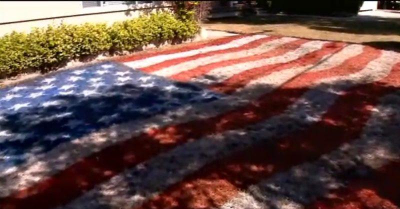 San Jose Flag Lawn