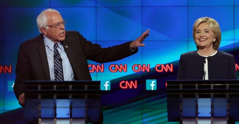 Bernie Sanders Hillary Clinton Socialism