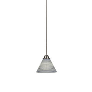 https www bellacor com productdetail elk lighting 10077 1 geologic satin nickel mini pendant 479604 htm