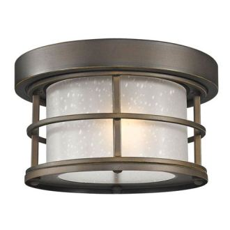 Outdoor Ceiling Lighting   Exterior Light Fixtures   Bellacor Exterior Additions Oil Rubbed Bronze 10 Inch One Light Outdoor Ceiling Light  with Frosted