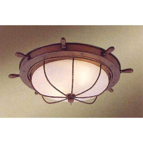 nautical flush mount ceiling light