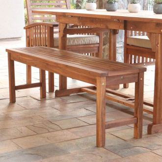 Acacia Wood Outdoor Furniture   Bellacor Bellacor Featured Item 1876799