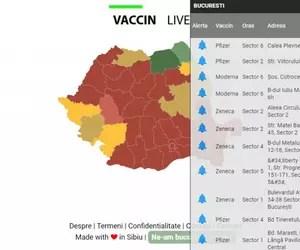 """Cum puteți afla ce tip de vaccin folosește fiecare centru și unde mai sunt locuri libere. Site-ul, lansat de un grup de sibieni: """"STS ne-a felicitat pentru idee"""""""
