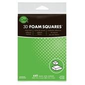 3D White Foam Squares • Combo Pack