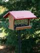 WBU EcoTough® Classic Feeder (red roof)
