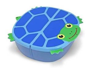 Scootin Turtle Snack Container