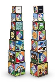 Days of Creation Stacking and Nesting Blocks