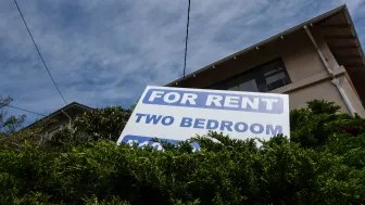 picture of apartment for rent sign