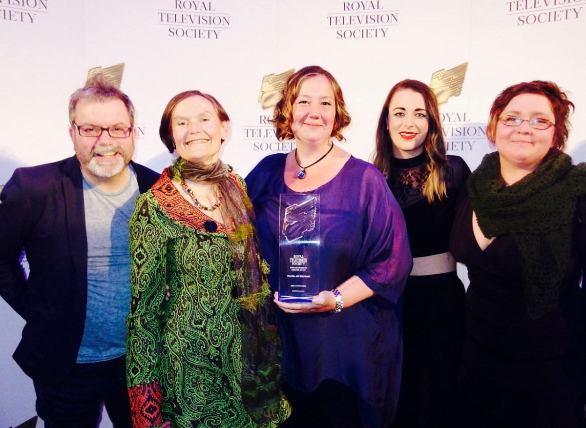A win for media co-op at the Royal Television Society Scotland Awards 2016