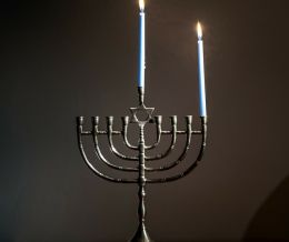 May you have a blessed and joyous #Hanukkah! #firstnight 📸: http://mckry.co/2yjyhzl
